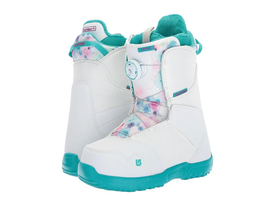 Burton Kids Zipline Boa '18 (Big Kid) (White/Frostberry) Boys Shoes