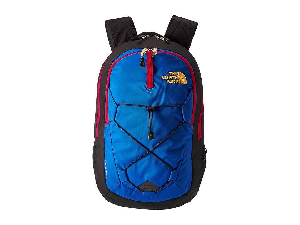 The North Face - Jester (Bright Cobalt Blue/TNF Black) Backpack Bags