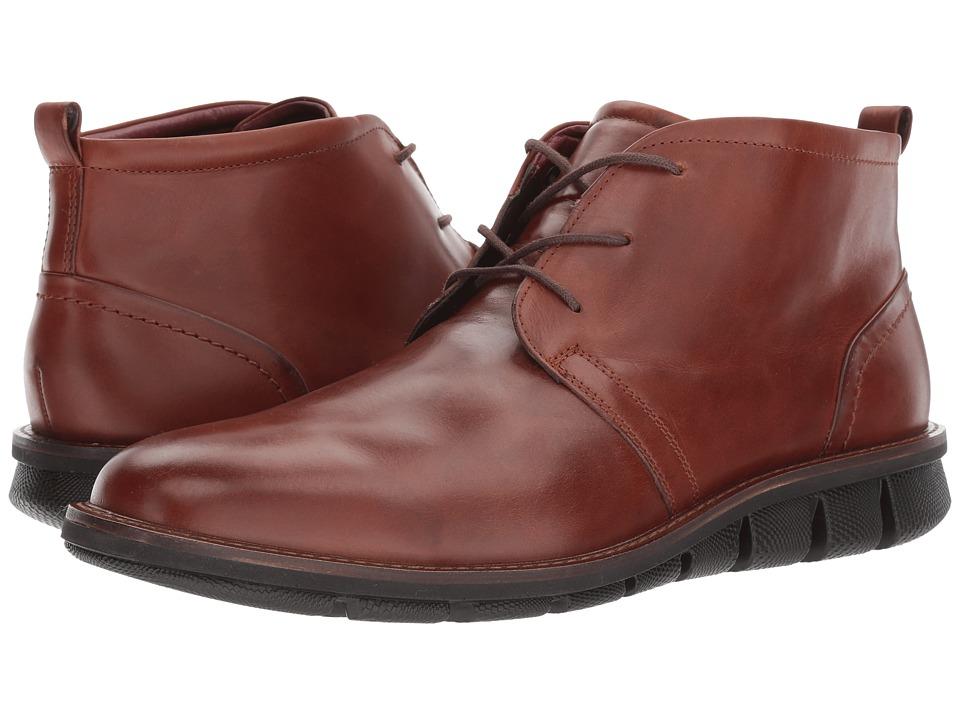 ECCO Jeremy Hybrid Boot (Cognac) Men