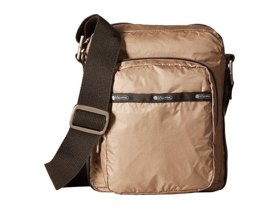 LeSportsac - N/S Camera Bag (Travertine) Handbags
