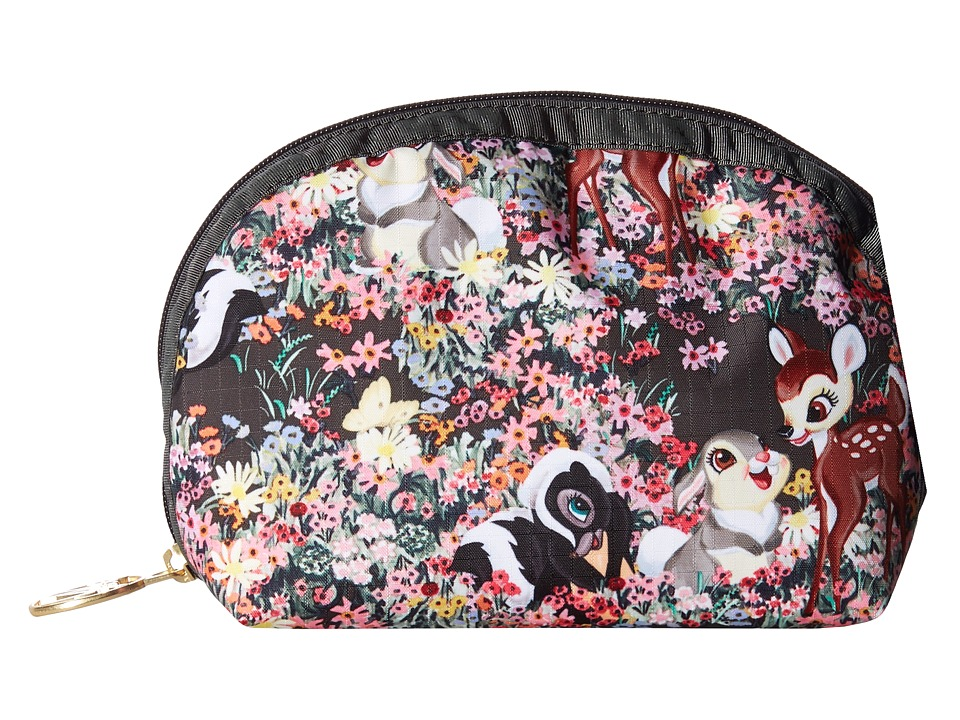 LeSportsac Medium Dome Cosmetic (Bambi and Friends) Cosmetic Case