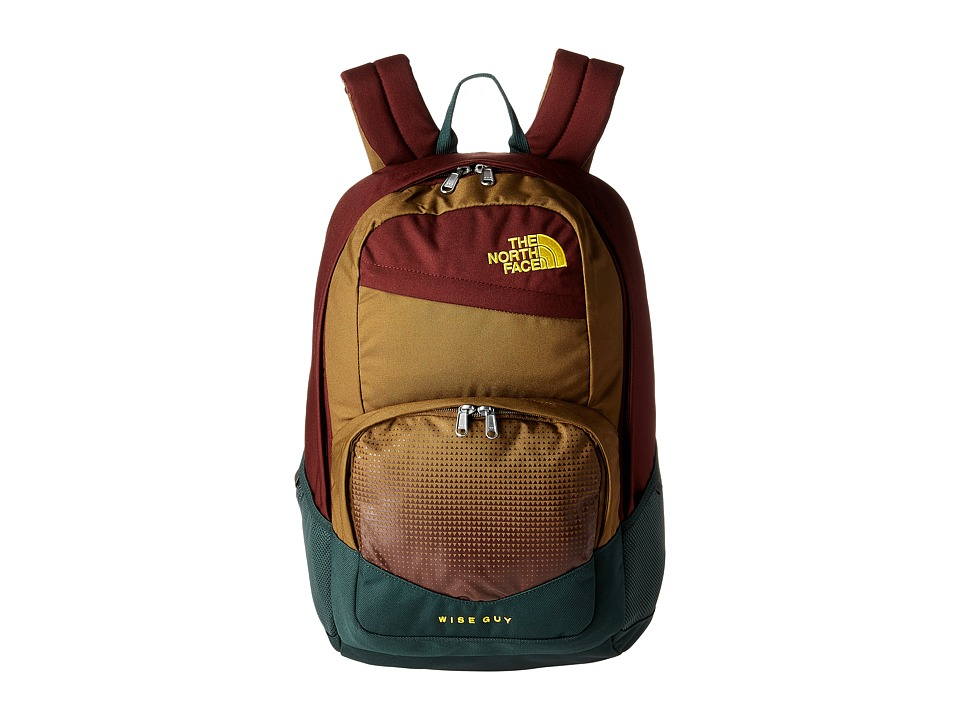 The North Face Wise Guy Backpack (Darkest Spurce/Falcon Brown) Backpack Bags