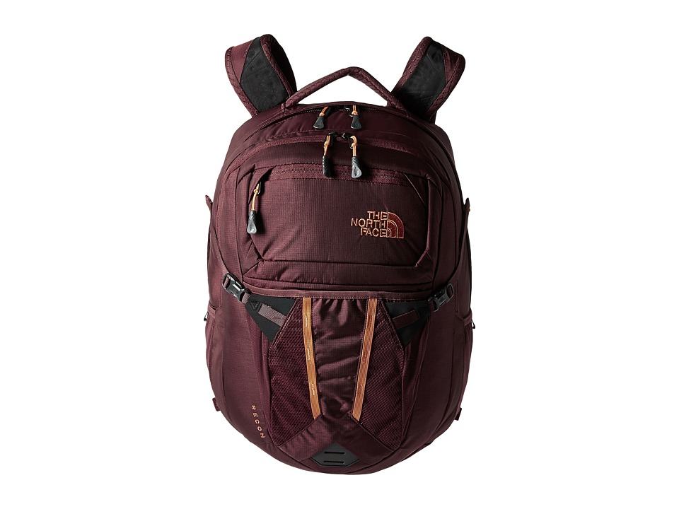 The North Face - Recon (Barolo Red/Nasturtium) Backpack Bags