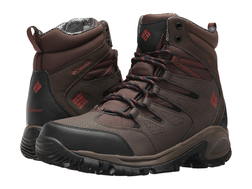 Columbia Gunnison Omni-Heat (Cordovan/Sanguine) Men