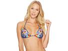 Nanette Lepore Dazed Denim Vixen Bikini Top