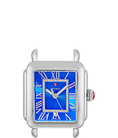 Michele - Deco Madison Cobalt Diamond Dial Stainless Steel