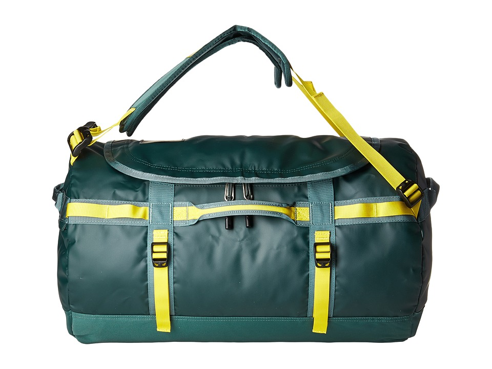 The North Face Base Camp Duffel Small (Darkest Spruce/Silver Pine Green) Duffel Bags