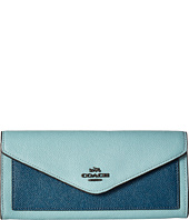 COACH - Color Block Soft Wallet