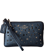 COACH - Metallic Star Rivets Small Wristlet