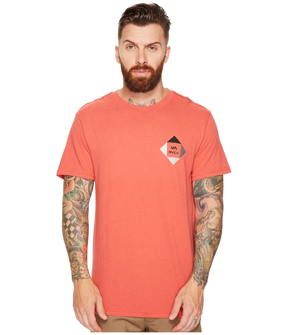RVCA All The Way 90 Tee (Baked Apple) Men