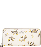COACH - Prairie Print Slim Accordian Zip
