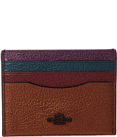 COACH - Metallic Color Block Flat Card Case