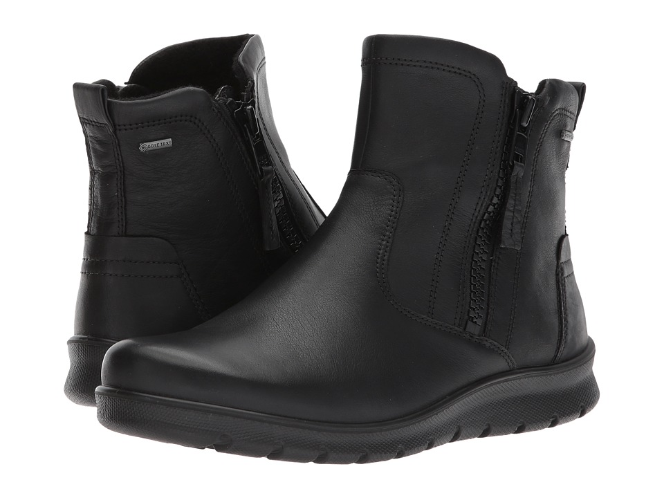 Ecco Babett GTX Bootie (Black Cow Leather) Women's Boots