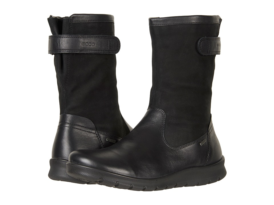 Ecco Babett GTX Boot (Black Cow Leather) Women's Boots