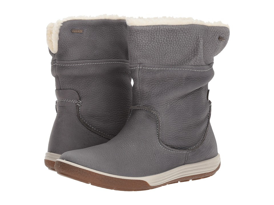 ECCO Chase II GTX Mid Boot (Dark Shadow Cow Nubuck) Women