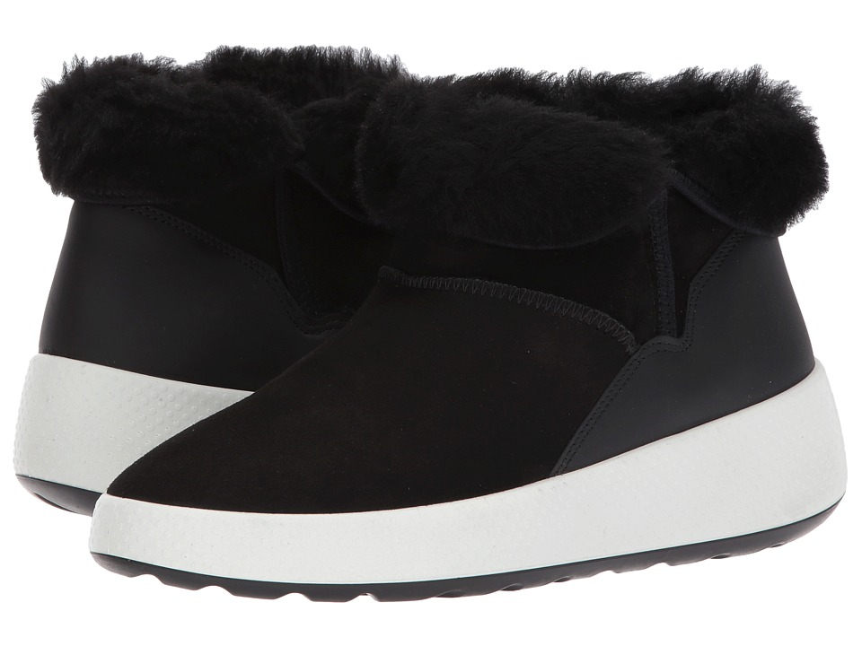 ECCO Ukiuk Low (Black/Black) Women