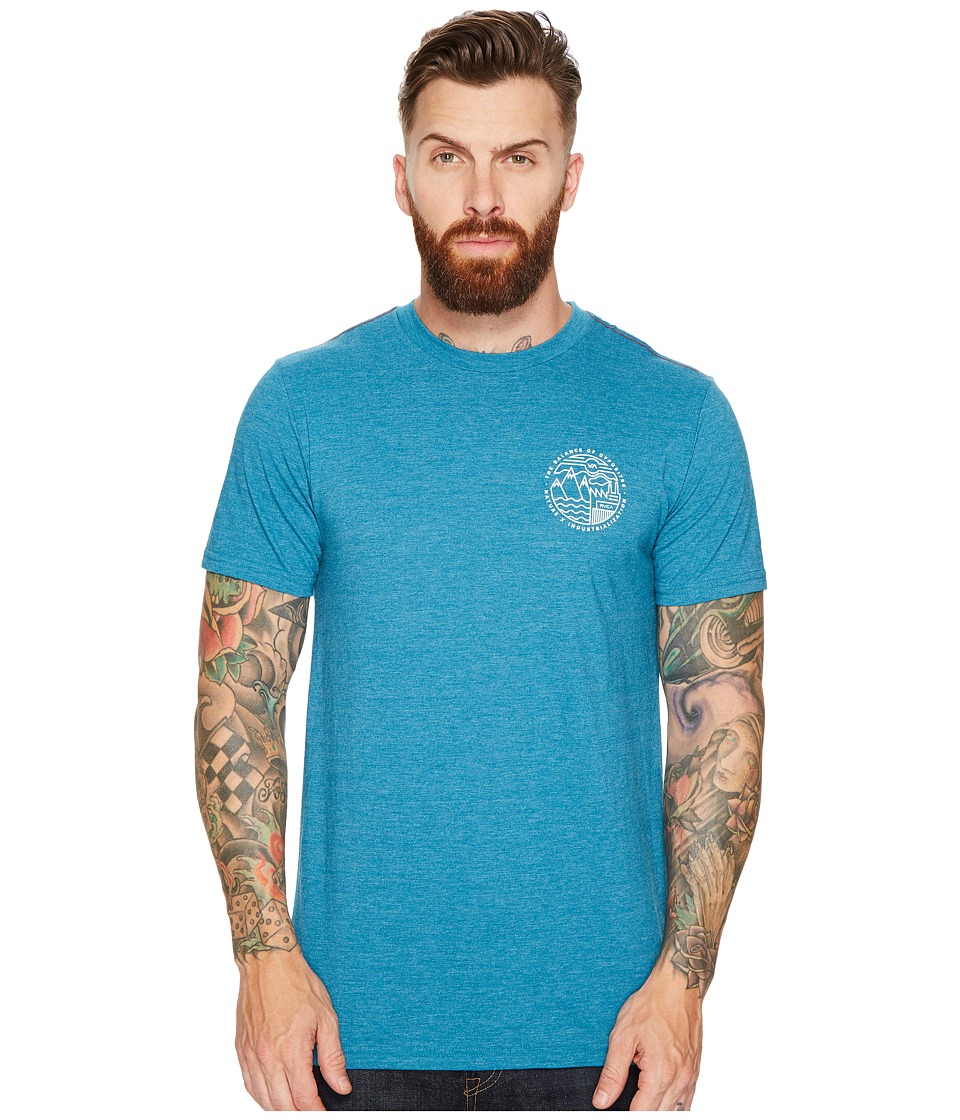 RVCA United By Nature Tee (Blue Tide) Men