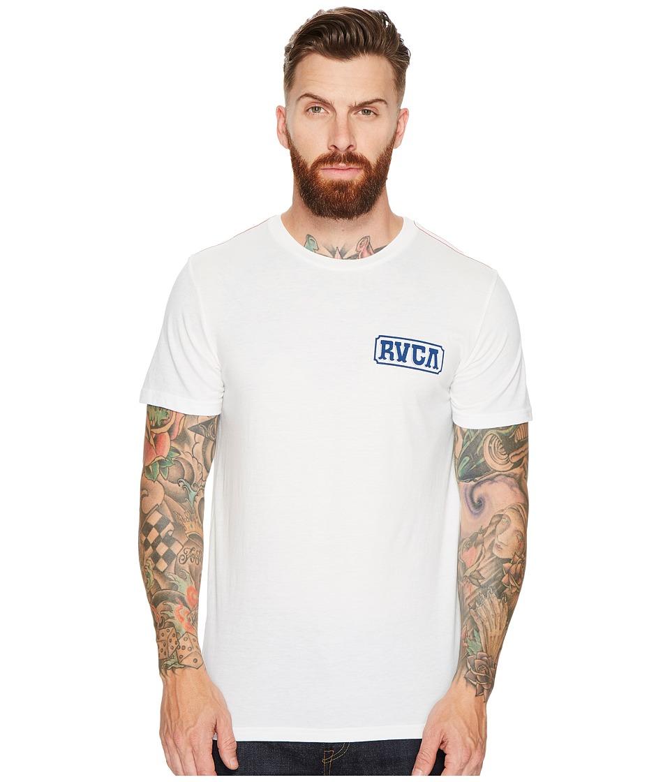RVCA Suzuki Sign Tee (Antique White) Men