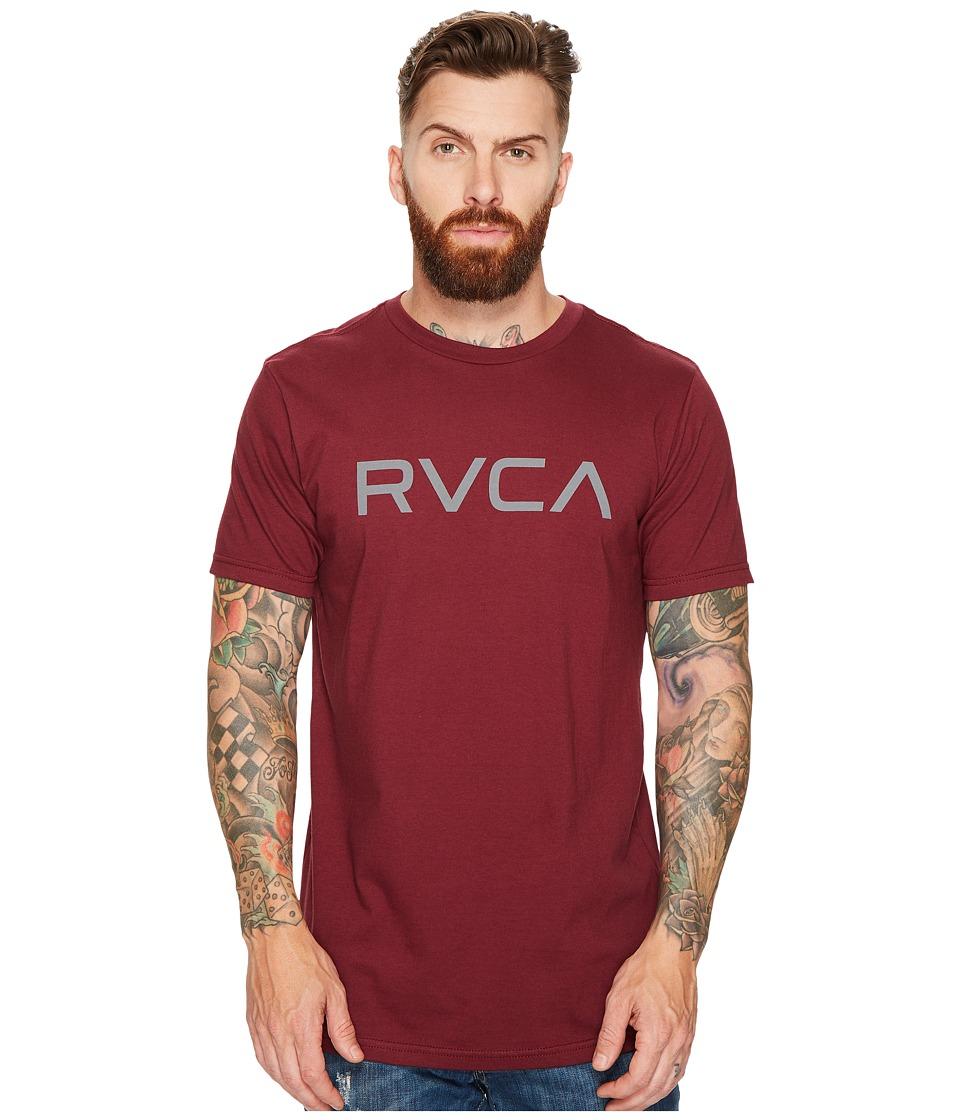 RVCA Big RVCA Tee (Tawny Port) Men