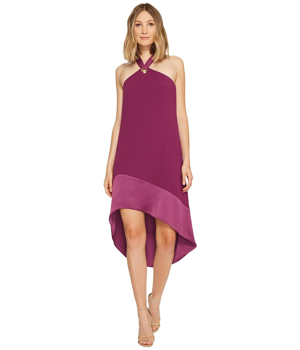 Trina Turk Glow Dress (Plum) Women
