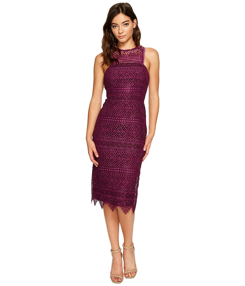 Trina Turk Vitality Dress (Plum) Women