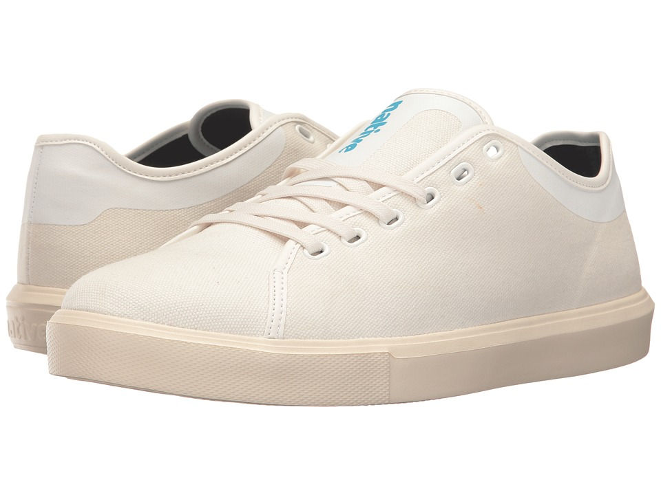 Native Shoes Monaco Low (Shell White Wax/Bone White) Lace up casual Shoes