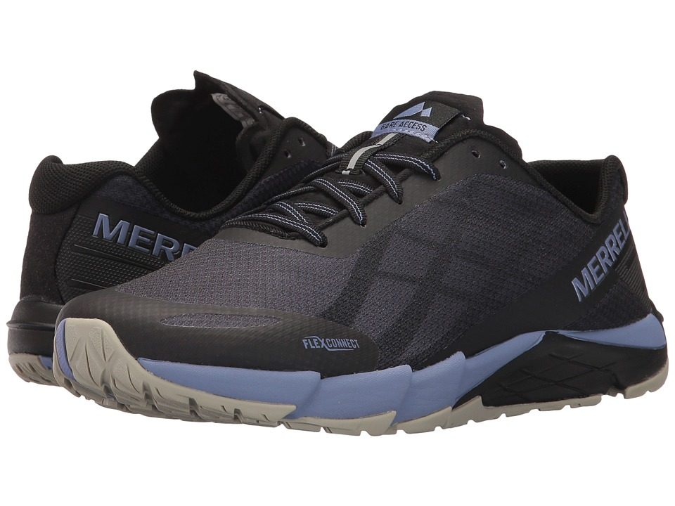 Merrell Bare Access Flex (Black/Metallic Lilac) Women's Shoes