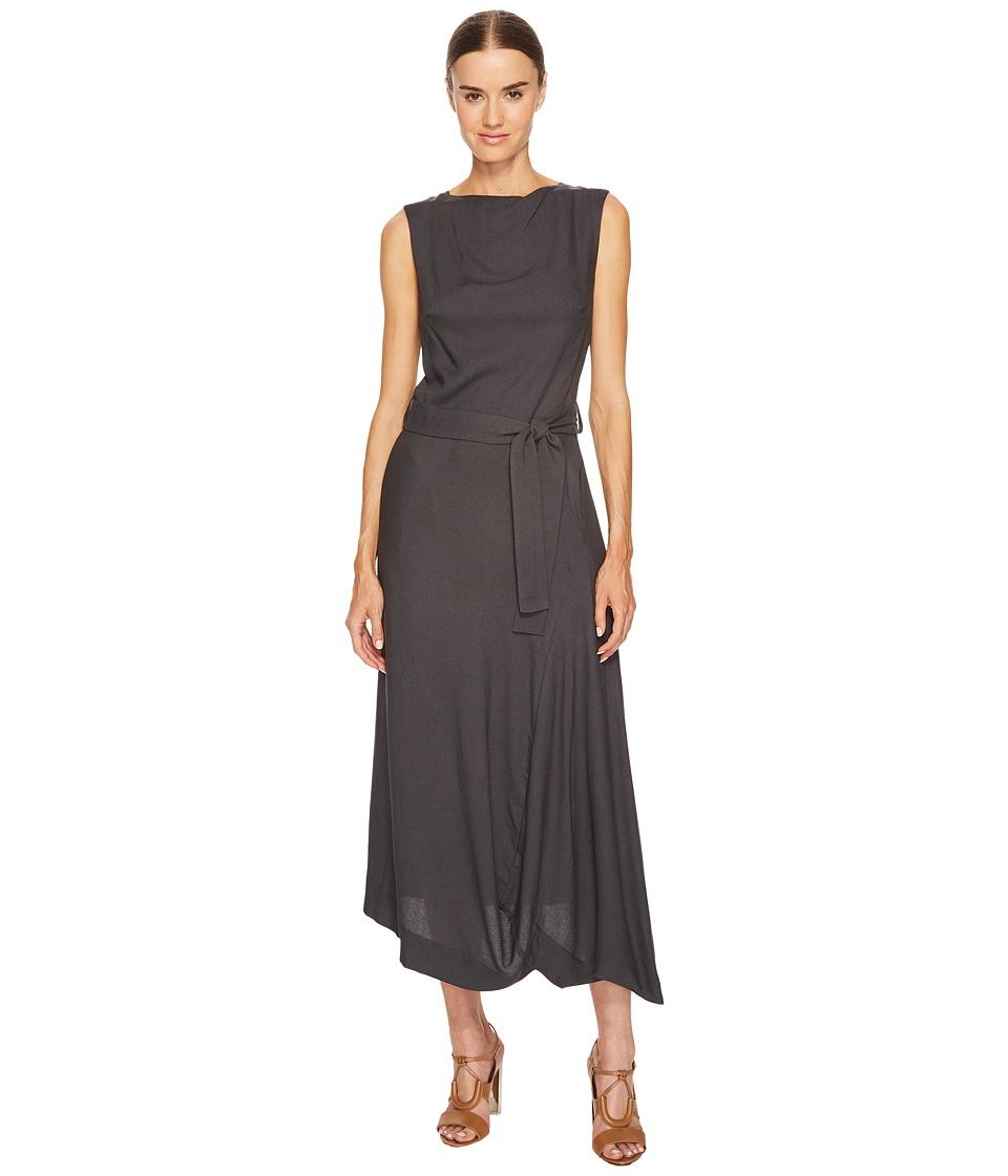 Vivienne Westwood Vasari Sleeveless Empire Dress (Battleship) Women