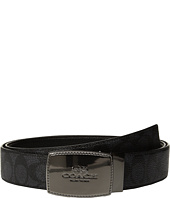 COACH - Stictched Plaque Signature Reversible Belt