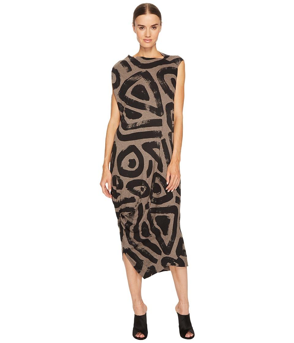 Vivienne Westwood Squires Sleeveless Printed Dress (Tobacco) Women