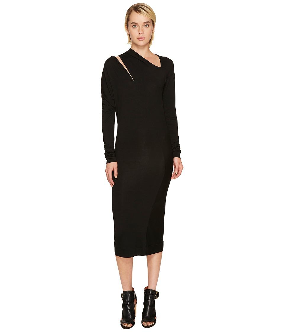 Vivienne Westwood Timans Long Sleeve Dress (Black) Women