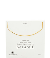 Balance Delicate Bar Choker Necklace  Gold