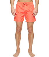 Diesel - Wave Fold&Go Quick Dry Light Microfiber 6 in Swim Shorts w/ Diesel Logo KAKV