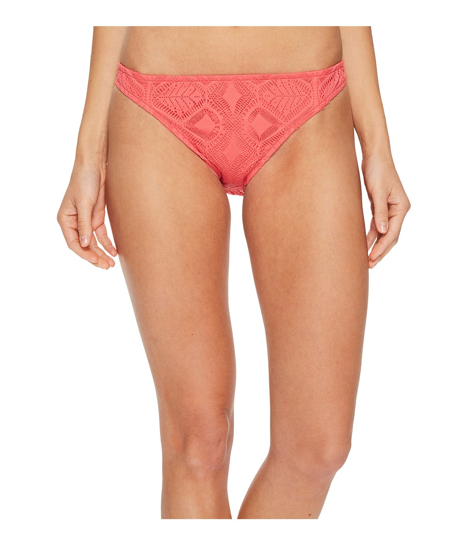 Polo Ralph Lauren Bordeaux Mixed Crochet Engineered Taylor Hipster Bottom (Strawberry)