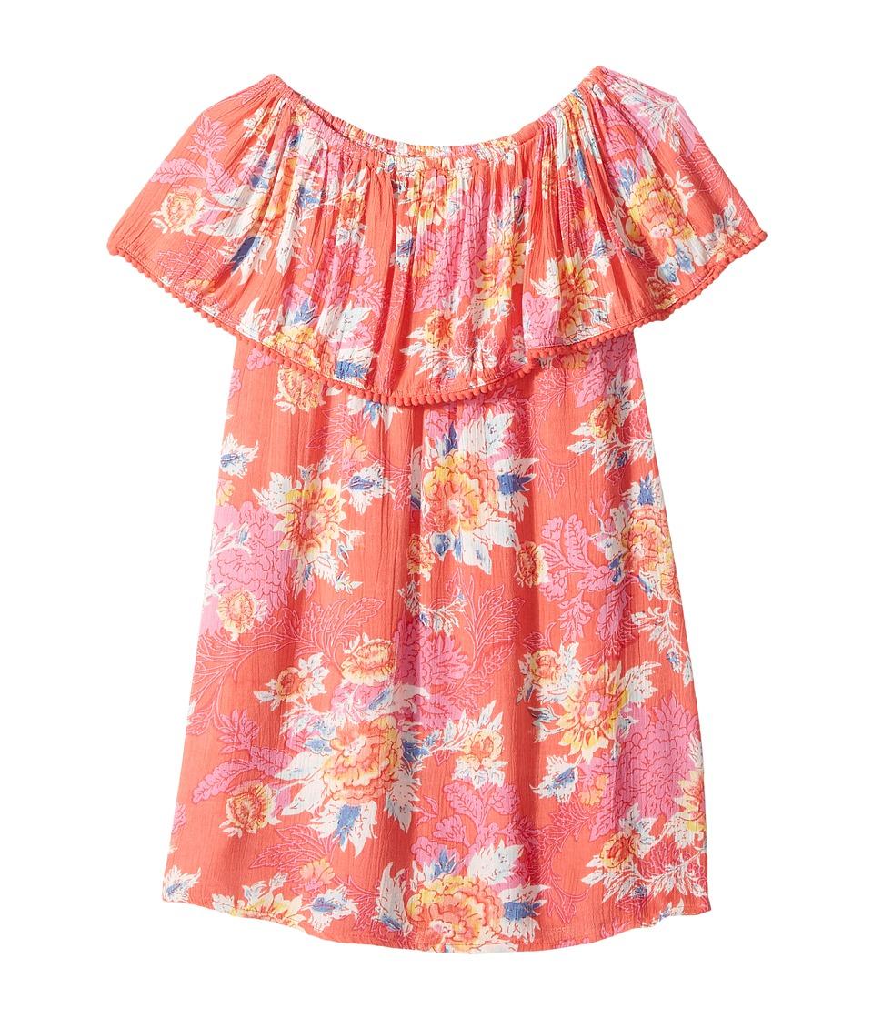 Billabong Kids Cabana Ana Dress (Little Kids/Big Kids) (Paradise Pink) Girl