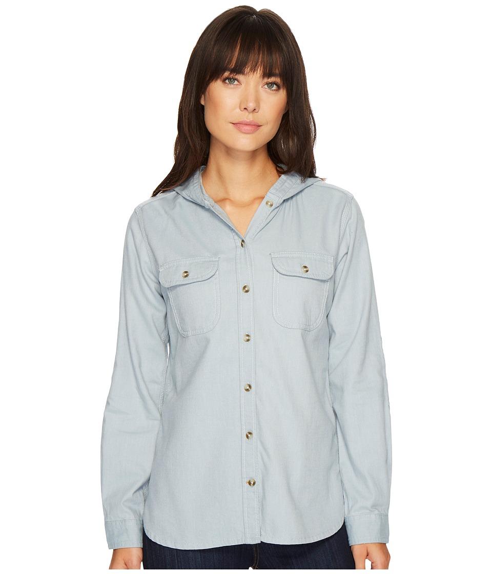 Carhartt Belton Solid Shirt (Light Chambray) Women