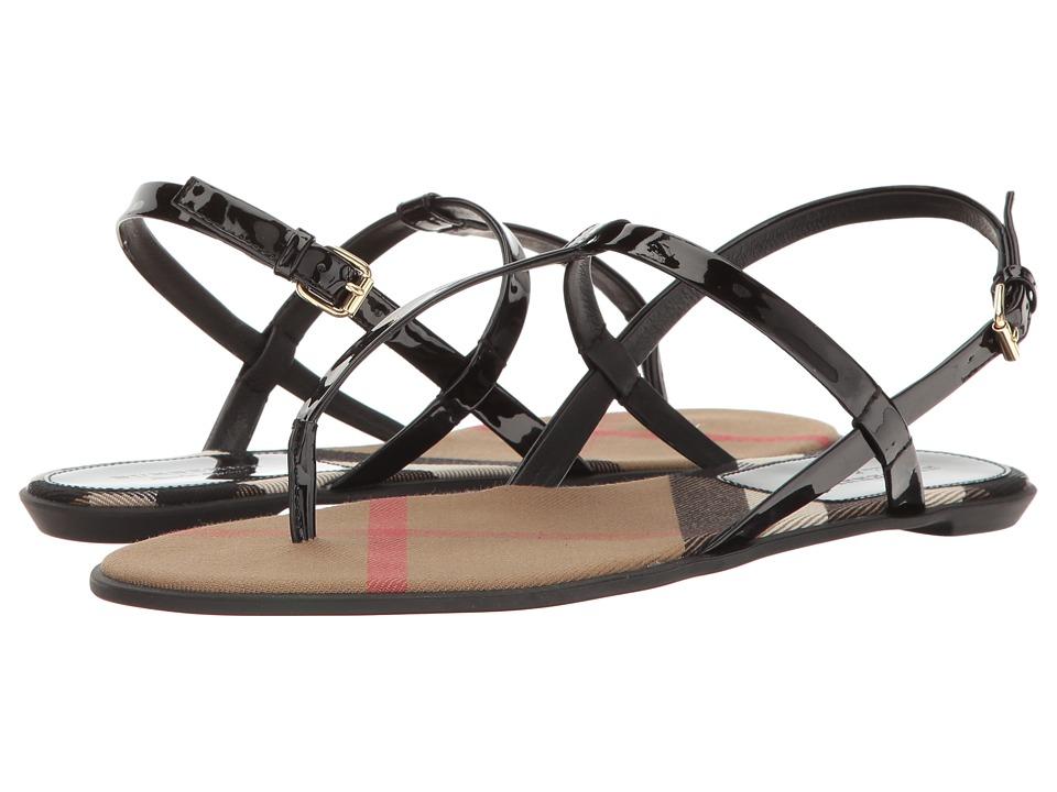 Burberrys Ingledew (Black) Women's Sandals
