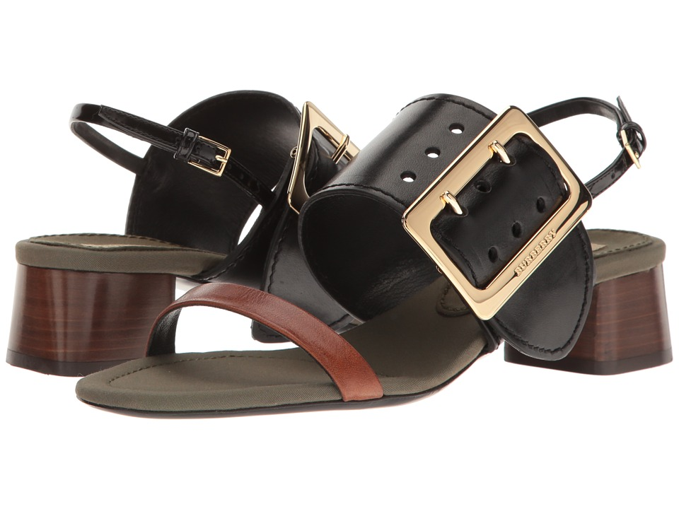 Burberry - Sawley (Black) Women's Sandals