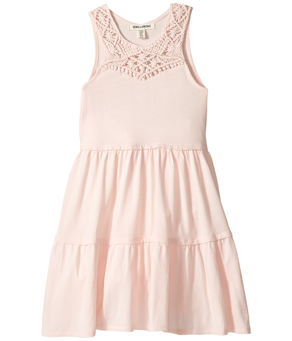 Billabong Kids Salty Side Dress (Little Kids/Big Kids) (Shell Pink) Girl