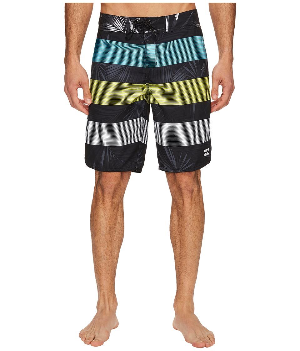 Billabong 73 OG Stripe Boardshorts (Black) Men