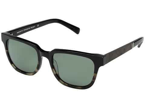 Shwood Prescott Acetate & Wood - Polarized - Black Olive/Elm Burl/G15 Polarized