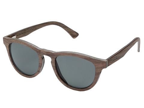 Shwood Francis Wood Sunglasses - Polarized - Walnut/Grey Polarized