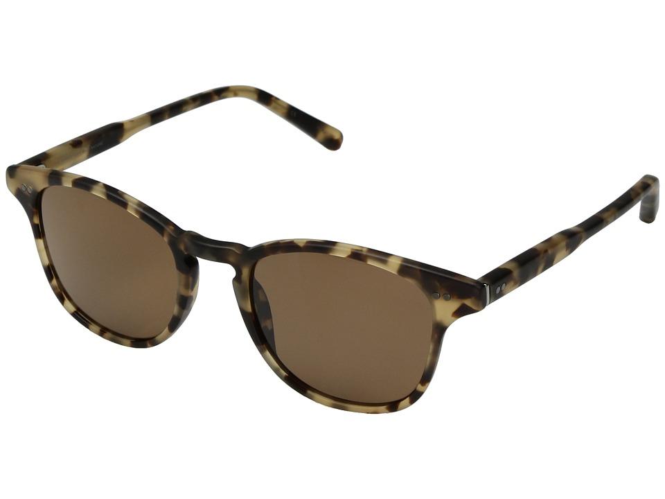 Shwood Kennedy Acetate Polarized (Matte Havana/Brown Polarized) Polarized Sport Sunglasses
