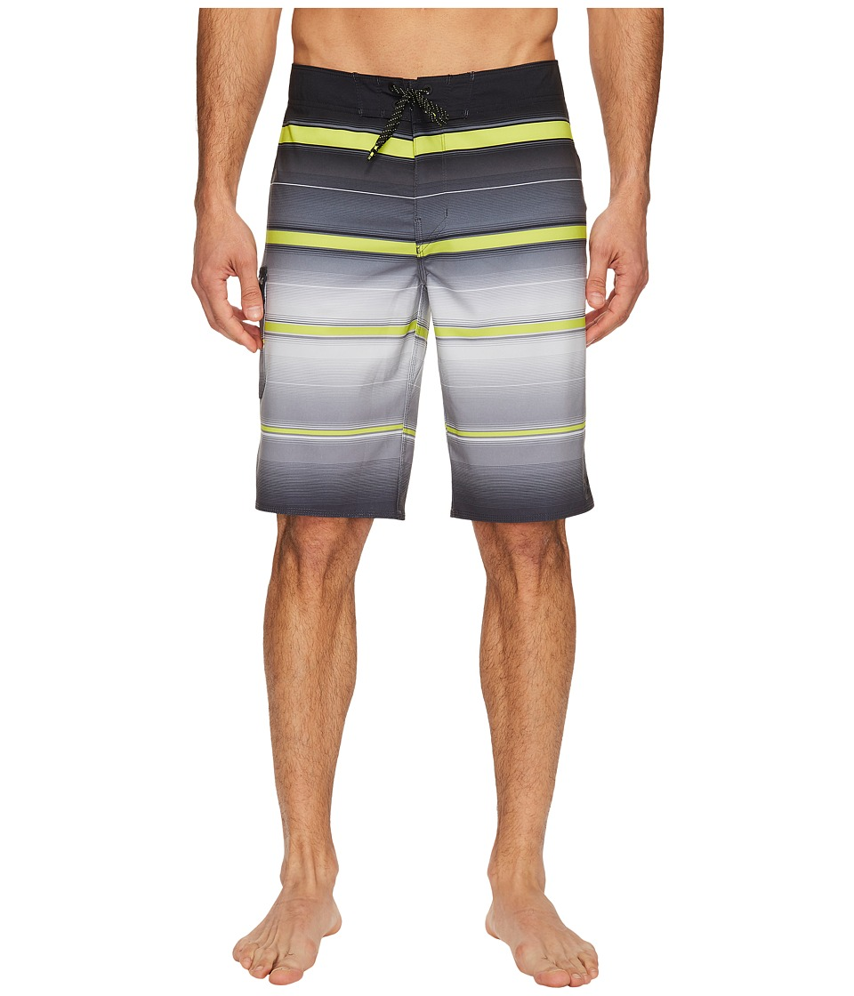 Billabong All Day X Stripe Boardshorts (Charcoal) Men