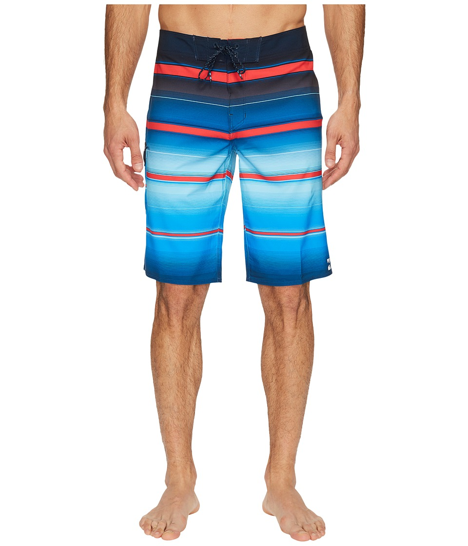 Billabong All Day X Stripe Boardshorts (Royal) Men