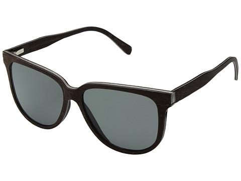 Shwood Mckenzie Wood Sunglasses - Polarized - Dark Walnut/Grey Polarized