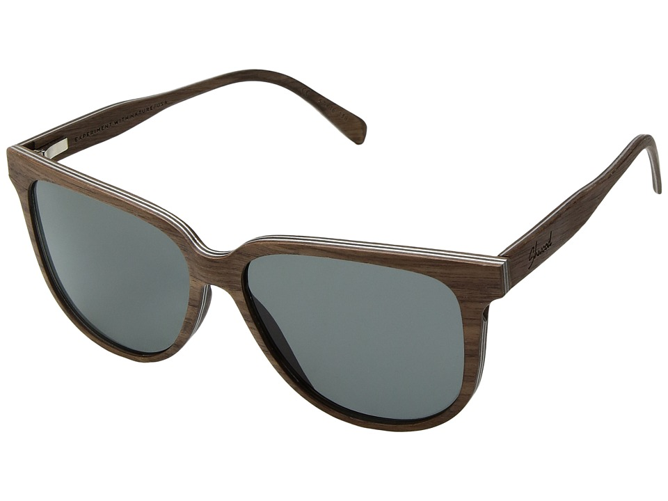 Shwood - Mckenzie Wood Sunglasses - Polarized (Walnut/Gre...