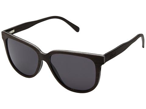 Shwood Mckenzie Wood Sunglasses - Dark Walnut/Grey