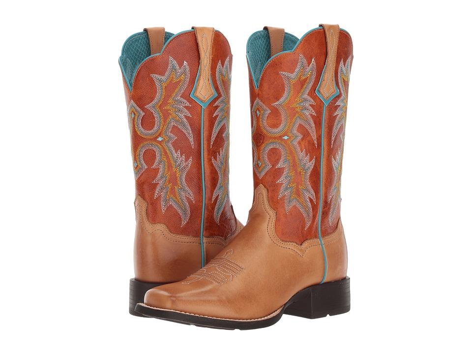 Ariat Tombstone (Tack Room Honey) Cowboy Boots