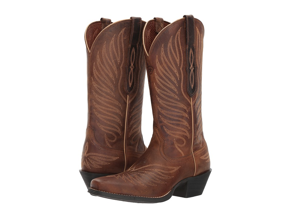 Ariat Round Up Phoenix (Rodeo Tan) Cowboy Boots